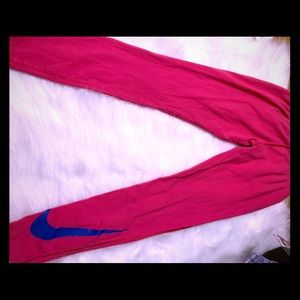 Girls large Nike leggings